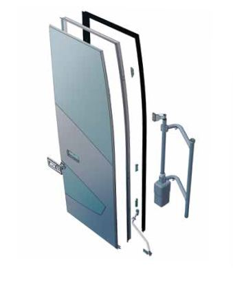 AST-P Pneumatic outward swinging doors
