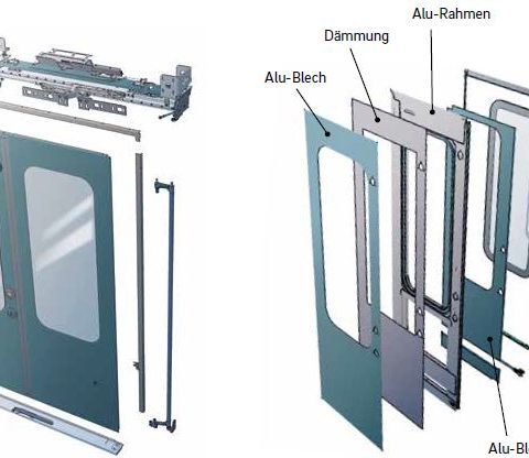 BIDS® - Double panel sliding-plug door systems.