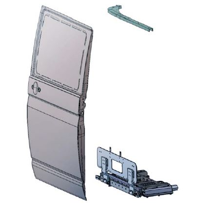 BIDS® AM-S Sliding plug door, upright