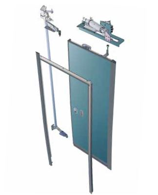 IST-P Pneumatic inward swinging doors